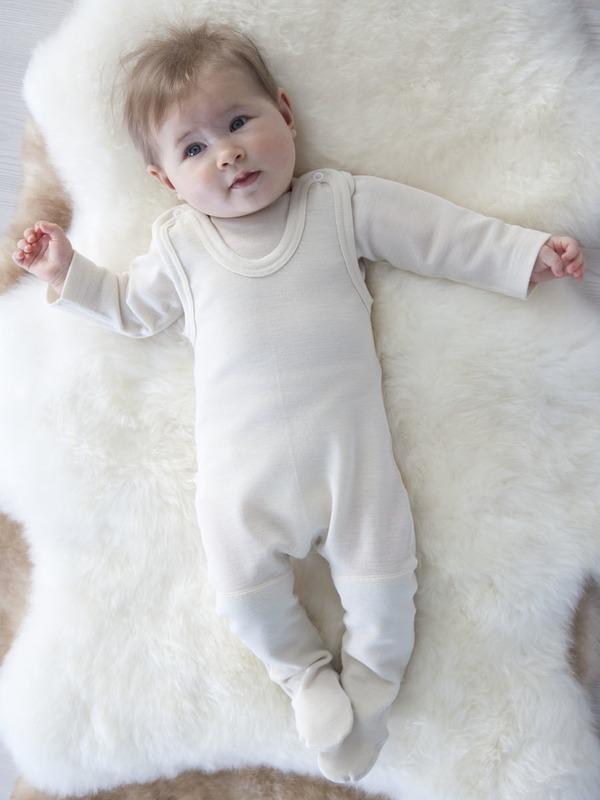 Sparkedragt uld - Bukser - Baby - Ekotextil.dk